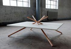 Bravais Table by danacannamdesign