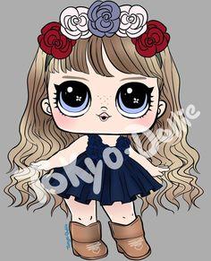 Kawaii Drawings, Cute Drawings, Cute Baby Cartoon, America Girl, Doll Party, Lol Dolls, Girl Scouts, Cartoon Characters, Fashion Dolls