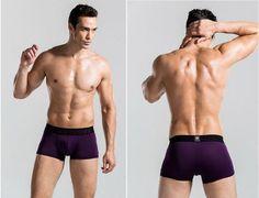 3pcs/lot wholesale sexy brand men's underwear boxers Comfort multicolor boxers men cheap price Asia size Hot sale 11 colors D1