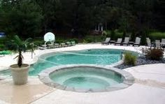 Spa pool that flows into swimming pool - Google Search