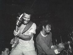 Glen E. Friedman - Bad Brains -  from the book FUCK YOU HEROES 1982©
