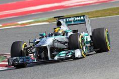 P1 Lewis Hamilton (1m20.588), Mercedes AMG Petronas F1 Team, Test Day 7, Barcelona, Spain