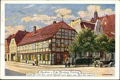 Künstler Ansichtskarte / Postkarte Sturtevant E., Jüterbog, Konditorei Blumberg