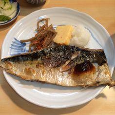 Roasted mackerel at Suezen.