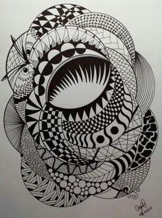 Another Random Zentangle