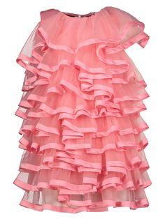 Little Marc Jacobs Kids' Satin-trimmed Tulle Dress In Pink Little Marc Jacobs, Tulle Dress, Kids And Parenting, Twins, Girls Dresses, Ballet Skirt, Satin, Children, Skirts