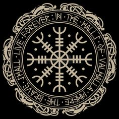Magical runic compass Vegvisir, in the circle of Norse runes and dragons, vector illustration Stock Images in HD and millions of other royalty-free stock photos, illustrations, and vectors in the Shutterstock collection. Norse Runes, Viking Symbols, Viking Art, Viking Runes, Ancient Symbols, Norse Mythology, Simbolos Tattoo, Body Art Tattoos, Sleeve Tattoos