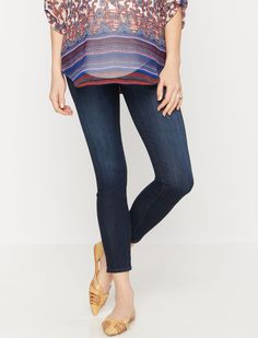 The Legging Ankle secret fit belly 5 pocket maternity jeans by AG Jeans  available at Destination e3f0ecc2412