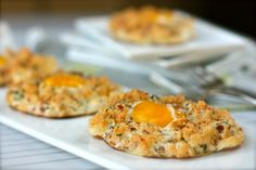Eggs in clouds, italian style
