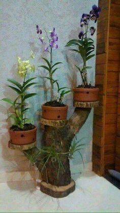 Garden Crafts, Garden Projects, Garden Art, Garden Design, Garden Ideas, Easy Projects, Diy Flowers, Flower Vases, Flower Pots