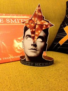 Morrissey/ The Smiths Holiday Tree Topper by inthethickofit, $5.00