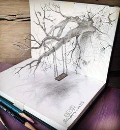 The Very Best 3D Pencil Sketch Art  - http://bit.ly/1BSjEPw
