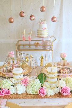Rose Gold Wedding; Rose Gold is the ultimate contemporary color trend this year for weddings and we just loved styling this chic and elegant celebration! With rich gold tones, pops of pink and plenty of glamorous details, you can easily create this must have look with an inexpensive price tag! rose gold wedding theme, rose gold wedding decor, rose gold bachelorette party decor