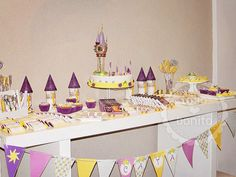 Ideas cumple Rapunzel