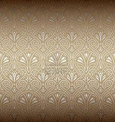 Nahtlose Jugendstil-Muster Stockfoto - 11028767