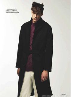 Male Fashion Trends: Sebastien François viste las mejores colecciones de invierno para DT Lux Magazine