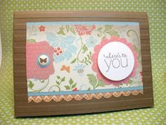 Stampin Up Friendly Phrases...Here's to You