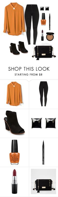 Smart Casual by siara-renee on Polyvore featuring Steve Madden, River Island, Witchery, NYX and OPI