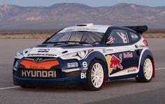 RMR Hyundai Veloster rally car