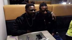 No More Beef! Falz And 9ice Reconcile As They Have Dinner Together (See Photo and Video)
