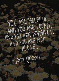 John Green quote :)