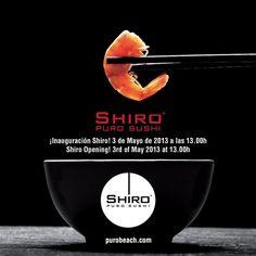 Tenemos el placer de comunicarles la inauguración oficial de nuestro restaurante Shiro. Para complementar nuestro menú internacional ofrecemos Shiro, introduciendo Sushi de la forma más exquisita | We have the pleasure to officially announce the new opening of our Shiro Restaurant. To complement our international menu we offer Shiro, introducing sushi at its finest.