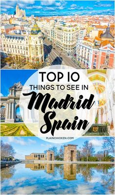 Top 10 Things to See in Madrid Spain - fantastic list of places to go when you are in Madrid! Top 10 Things to See in Madrid Spain - fantastic list of places to go when you are in Madrid! Barcelona, Ibiza, Valencia, Spain Travel Guide, Madrid Travel, Spain And Portugal, European Travel, Travel Europe, Austria Travel