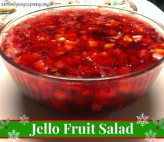 healthy apple dessert recipes, good dessert recipes, traditional spanish dessert recipes - Extremely Easy Couponing: Jello Fruit Salad Recipe