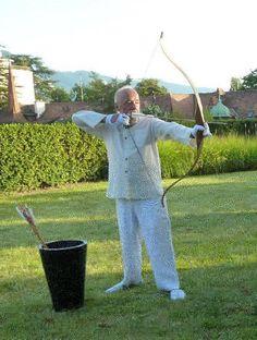 Paulo Coelho's daily meditation ... archery