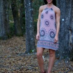 Madala Print Dress