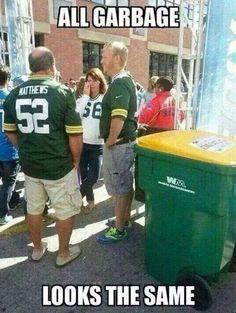 Haha Packers!