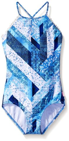Little Girls Jantzen Tie-Dye Cover Up Romper