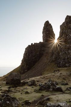 Old man of Storr in Scotland - Read more about our trip from Glencoe to Isle of Skye!  Travel & Photography | All the places you will go