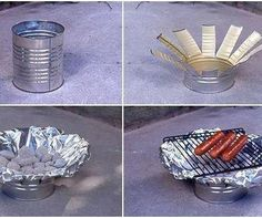 BBQ - from a tin can