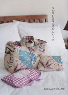 Kamakura Swany Lovely Bags - Japanese Sewing Pattern Book for Women - B333. via Etsy.