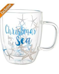 Brighten the Season Christmas By The Sea Mug