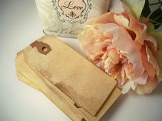 50 MEDIUM Hang Tag. Bohemian Wedding. Whimsical Hippie. Gift Tag. Vintage Wedding. Escort Card. Place Card. Save The Date. Invitation. LIGHT by HeartAndHandmade2 on Etsy https://www.etsy.com/listing/94348557/50-medium-hang-tag-bohemian-wedding