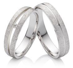 Silberringe Verlobungsringe Eheringe mit Diamant