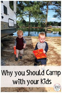 dbc18ff197d Camping with your kids doesn t have to be stressful. Remember to be flexible