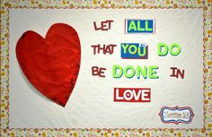 New Bulletin Board Ideas: Love