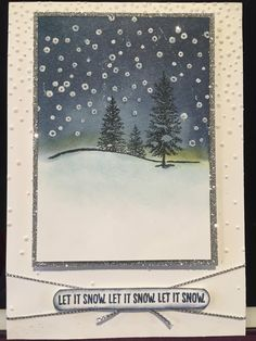 Another card I made using the new set Happy Scenes Stampin Up
