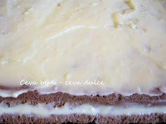Adela Zilahi: Prajitura cu crema de budinca si cocos Food Cakes, Cake Recipes, Pudding, Desserts, Cakes, Tailgate Desserts, Deserts, Easy Cake Recipes, Kuchen