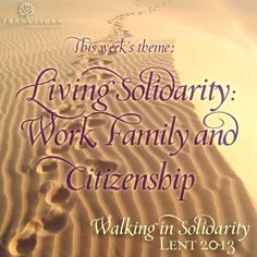 Solidarity with Workers blog post - Franciscan Mission Service