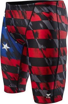 aa156f3cda TYR MEN S TYR USA VALOR JAMMER SWIMSUIT