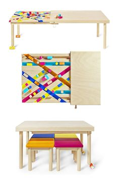 Bawa, a multifunctional table for kids - Petit & Small
