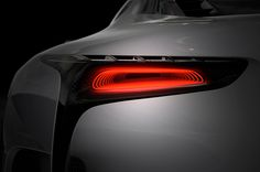 The Lexus LF-LC GT Vision Gran Turismo has been teased and appears to be based on the LF-LC concept car. Ramp Design, Car Design Sketch, Car Sketch, Lexus Cars, Car Headlights, City Car, Futuristic Cars, Mechanical Design, Tail Light