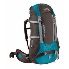 The North Face Terra 45 Women's Hiking Backpack - Baja Blue! For future backpacking adventures