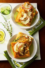 Savory Onion & Apple Tart