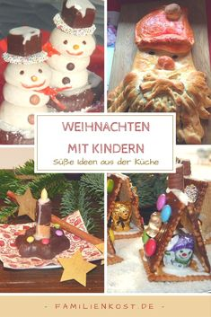 Great Christmas recipes for children and the whole family. Christmas Baking, Christmas Cookies, Christmas Ornaments, Christmas Recipes, Christmas Tree, Salt Dough Ornaments, Recipe Collection, Gingerbread Cookies, Kids Meals