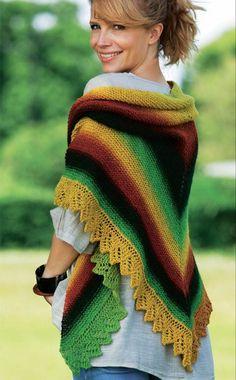 Er du vild med Hendes Verdens stribede kjole, så se her hvad farveskiftegarn også kan bruges til.